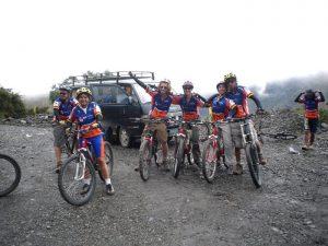 Mountainbiken in het Peruaanse hoogland