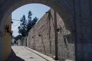 klooster van Santa Catalina in Arequipa