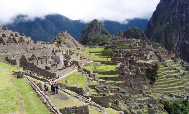 Een nog rustig Machu Picchu