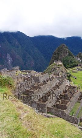 Aanzicht Machu Picchu, 16 daagse rondreis Peru