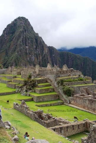 Een stil Machu Picchu