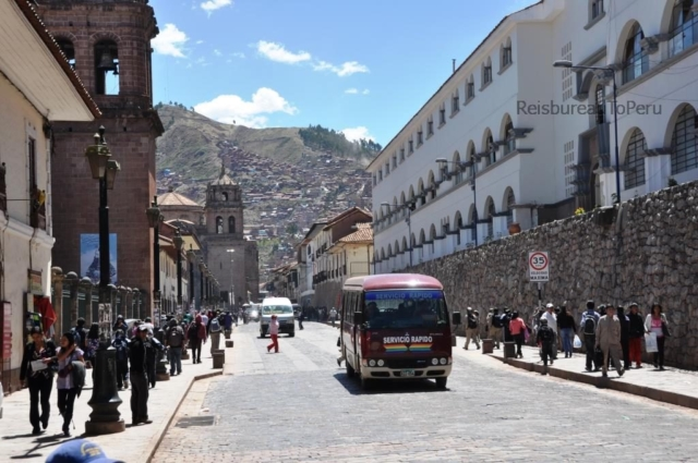 U bezoekt ook Cuzco tijdens onze 16 daagse rondreis Peru