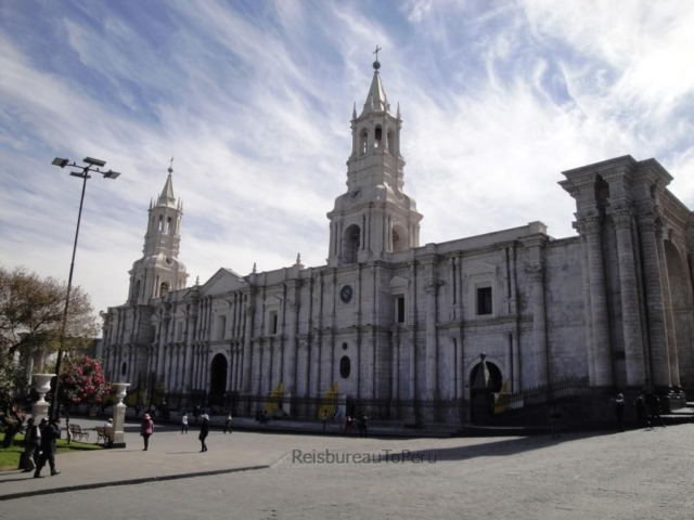 Kathedraal, Plaza de Armas, Arequipa