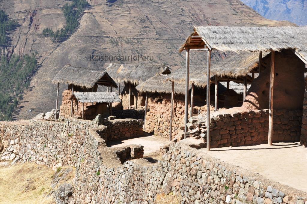Huisjes opgraving van Pisac, Heilige Vallei van de Inca's