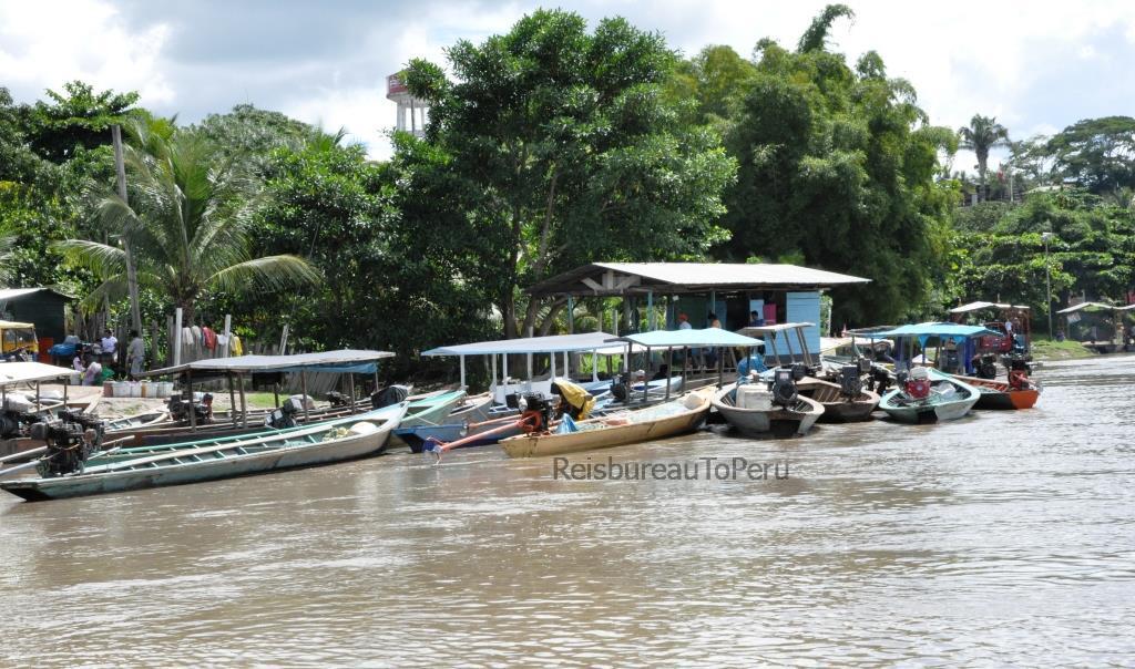 Haventje bij Puerto Maldonado