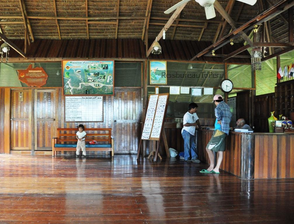 Receptie Eco Amazonia Lodge
