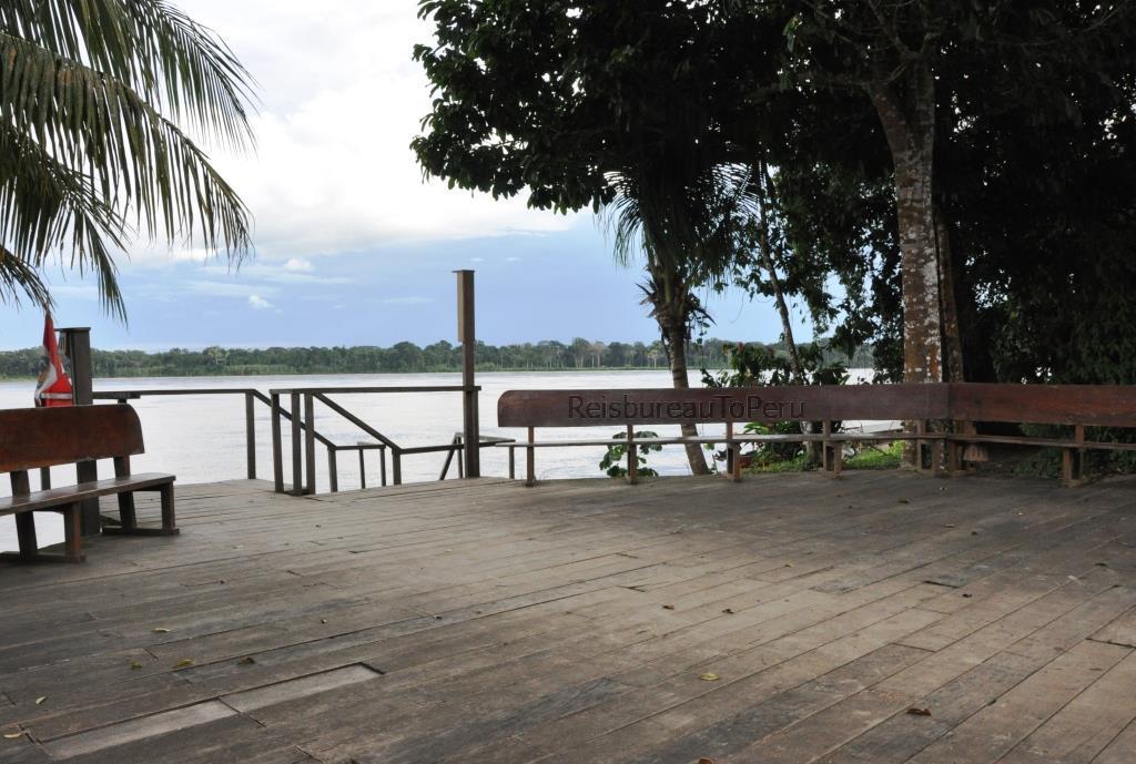 Aanlegsteiger Eco Amazonia Lodge