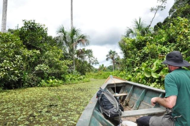 Bootocht bij Eco Amazonia Lodge