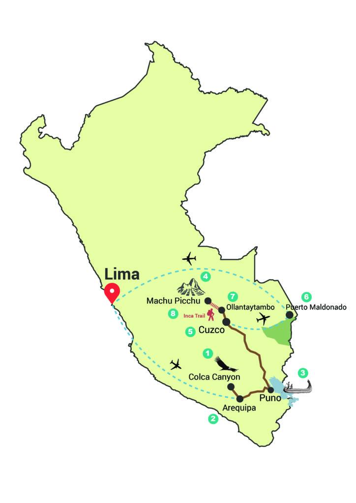 16 daagse Rondreis Peru