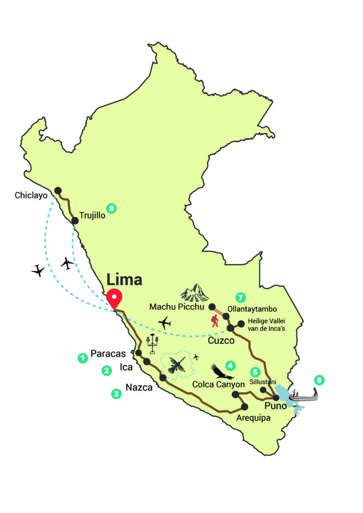 23 Daagse Rondreis Peru
